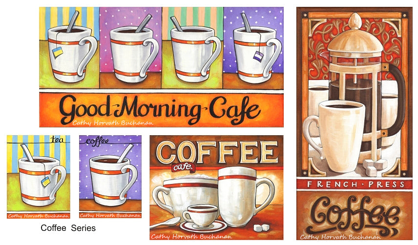 Cathy Horvath Buchanan Coffee Series