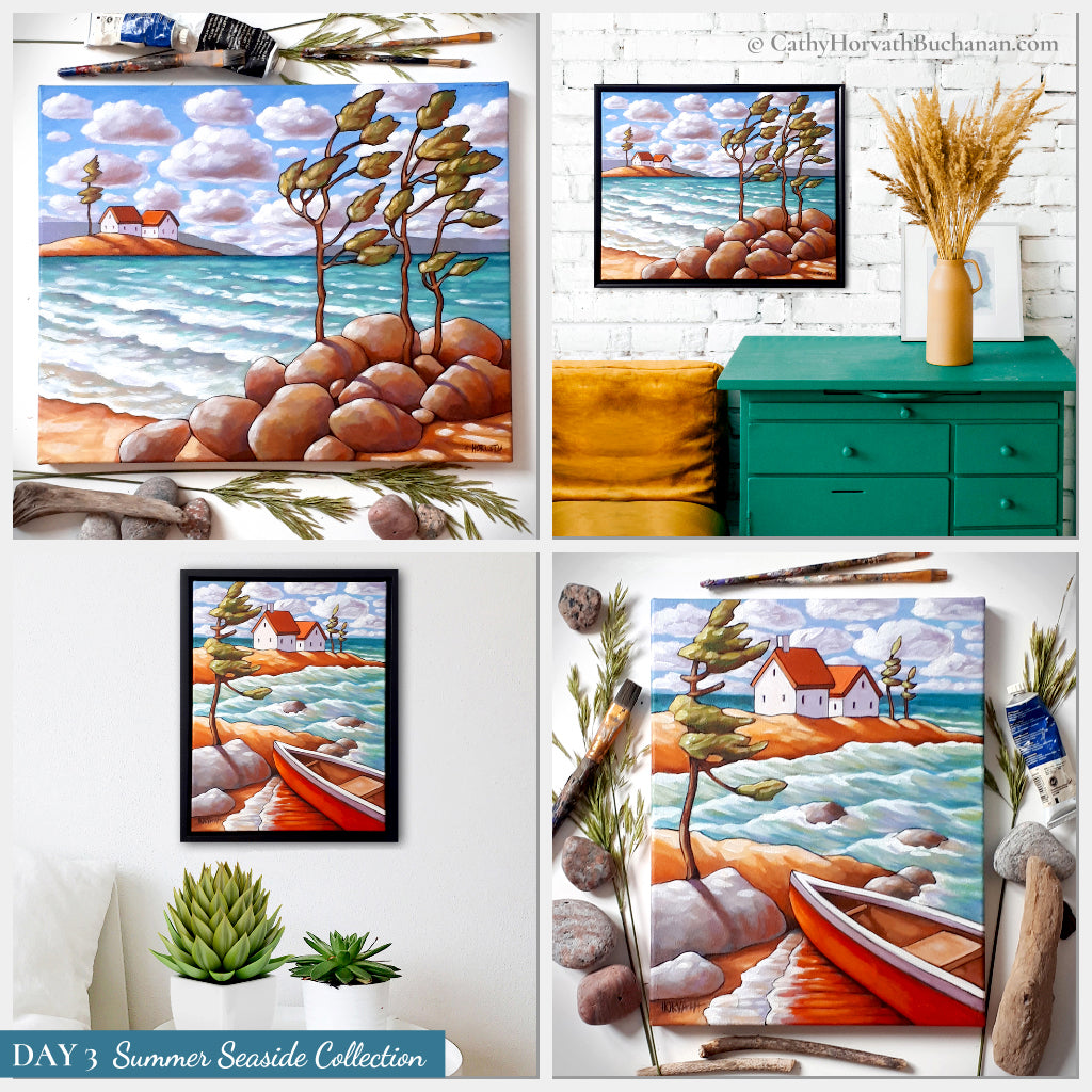 day 3 seaside collection by cathy horvath buchanan