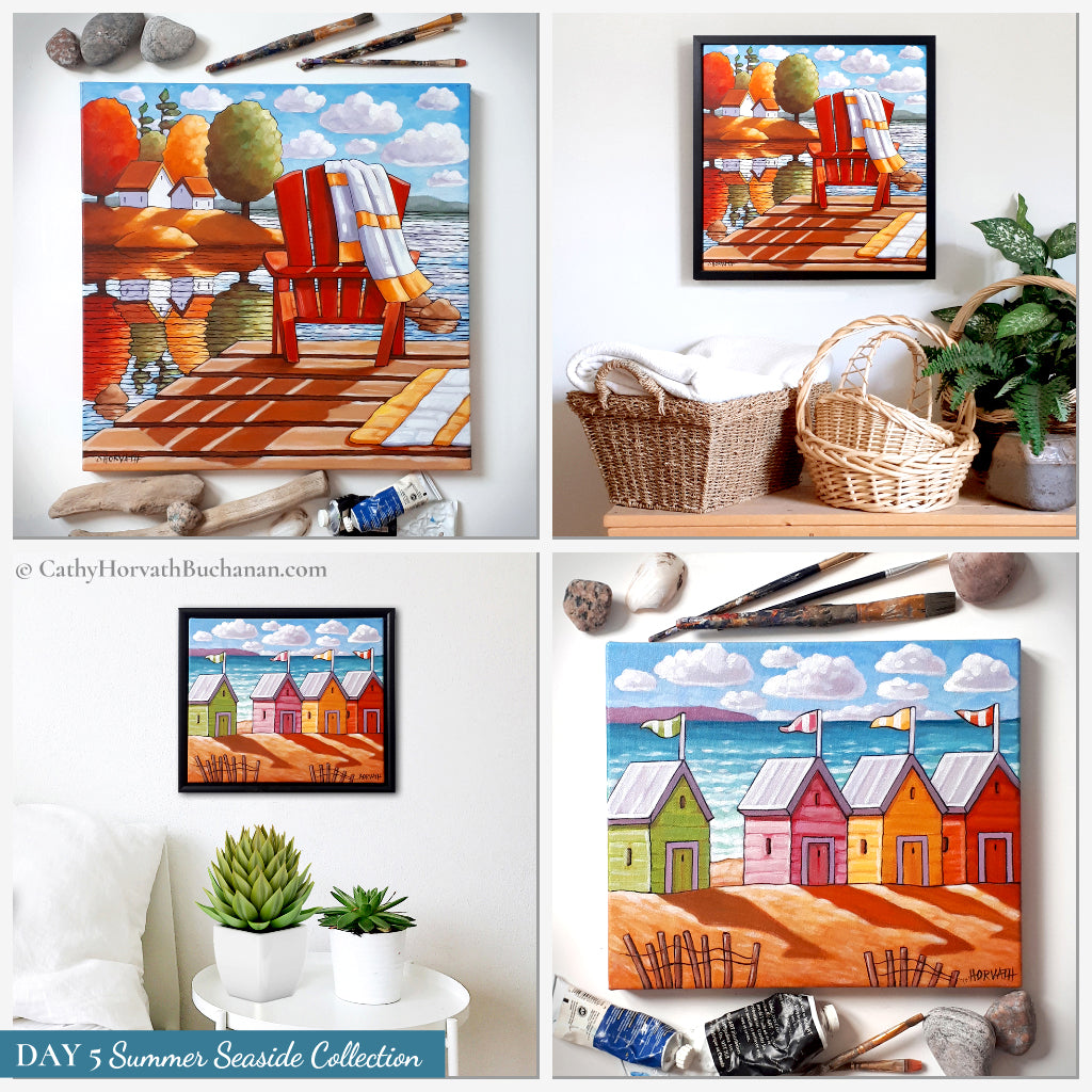 day 5 seaside collection by cathy horvath buchanan