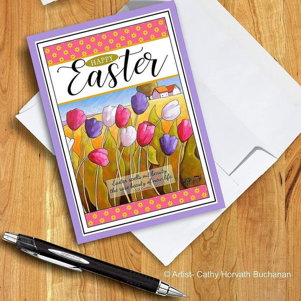easter card by cathy horvath buchanan