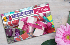 art gift cards soloworkstudio