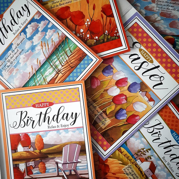 greeting card samples