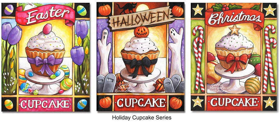 Cathy Horvath Buchanan Holiday Cupcakes