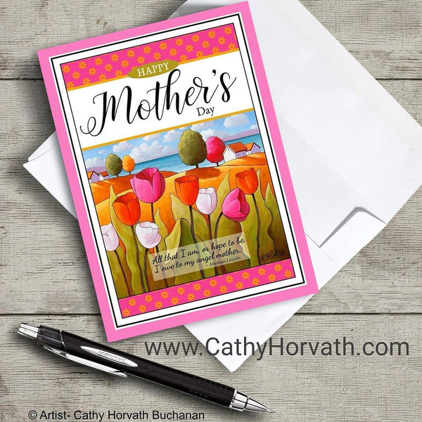 mothers day card by cathy horvath buchanan