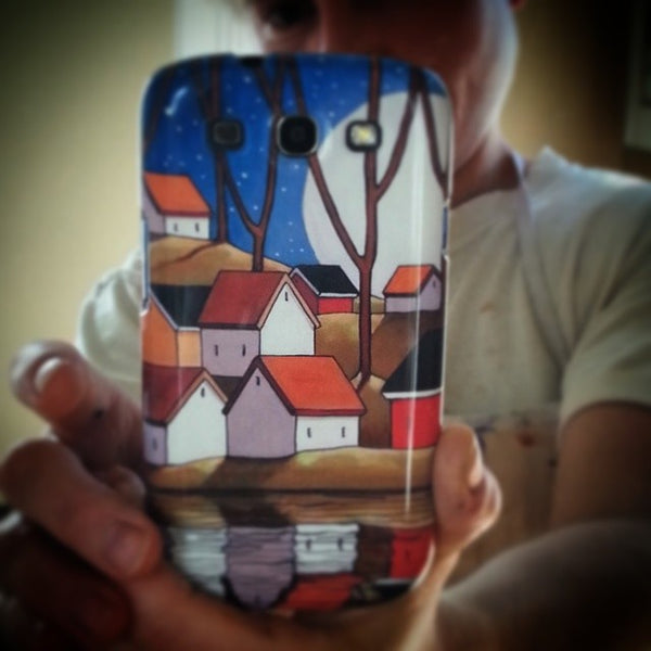 selfie with my phone art