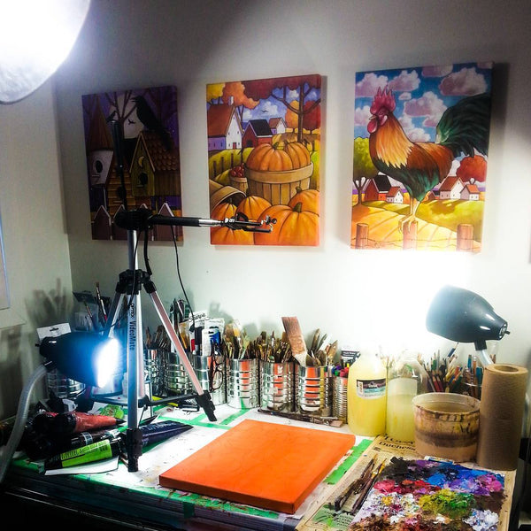 art studio cathy horvath buchanan