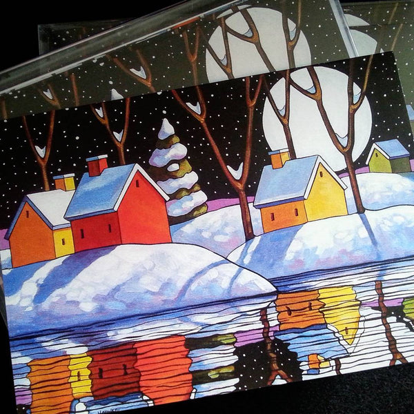 my art on christmas cards cathy horvath buchanan