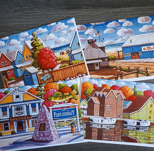 port stanley art cards by cathy horvath buchanan
