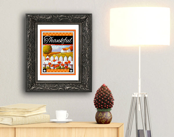 Thanksgiving printable by Cathy Horvath Buchanan