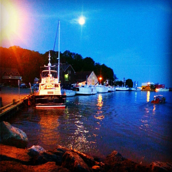 night harbour