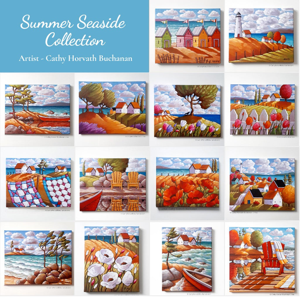 seaside collection by cathy horvath buchanan