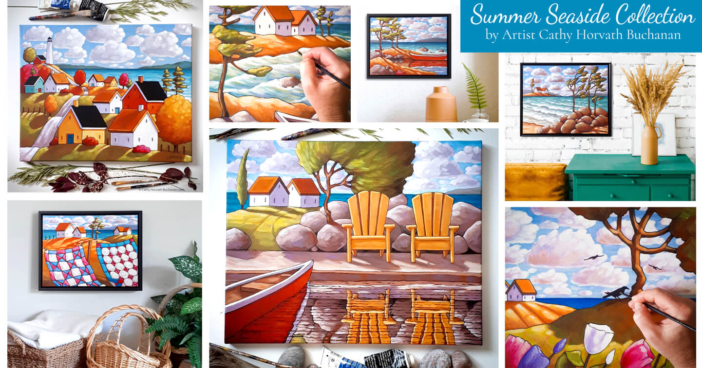 summer seaside collection
