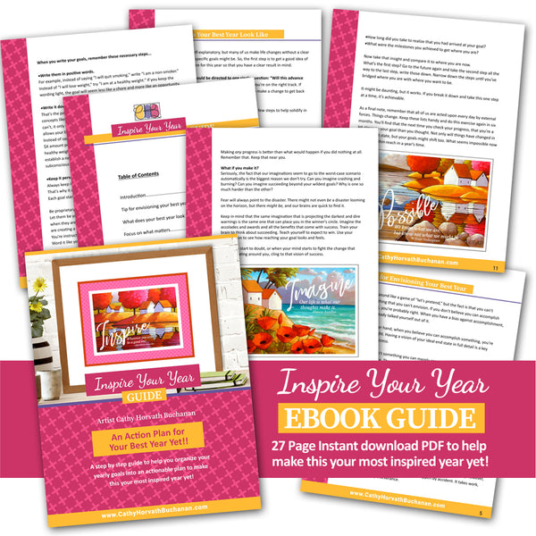 Inspire Your Year Ebook PDF Bundle - Digital Printable