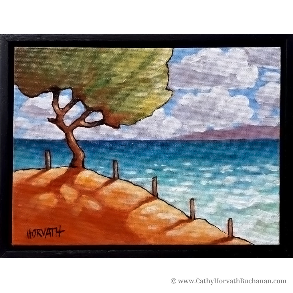 Beach Tree - Original Painting