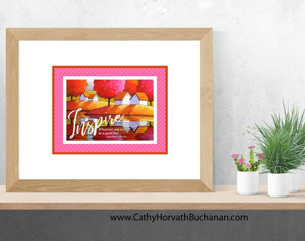 Believe Set of 4 Collection Inspirational Quote Wall Art Printable Download  by Cathy Horvath Buchanan