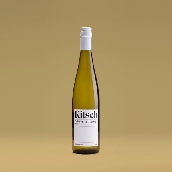 2018 Esther's Block Riesling