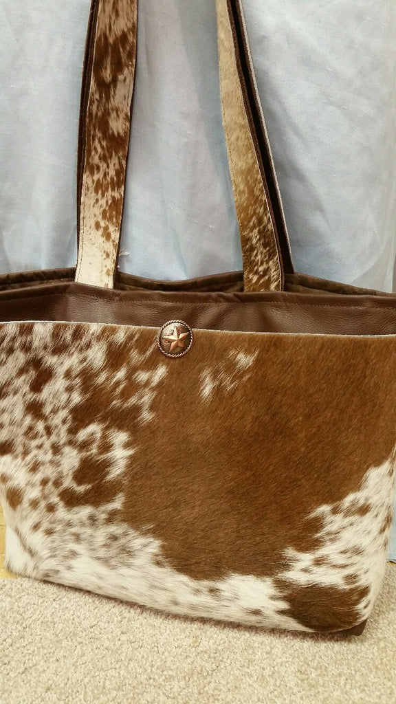 Western Leather Diaper Bags