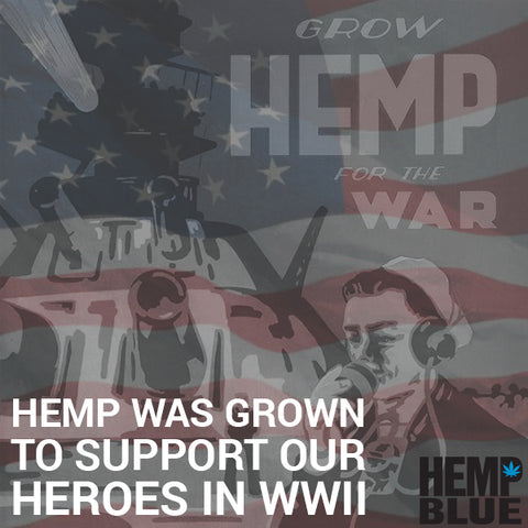 hemp was grown for wwii