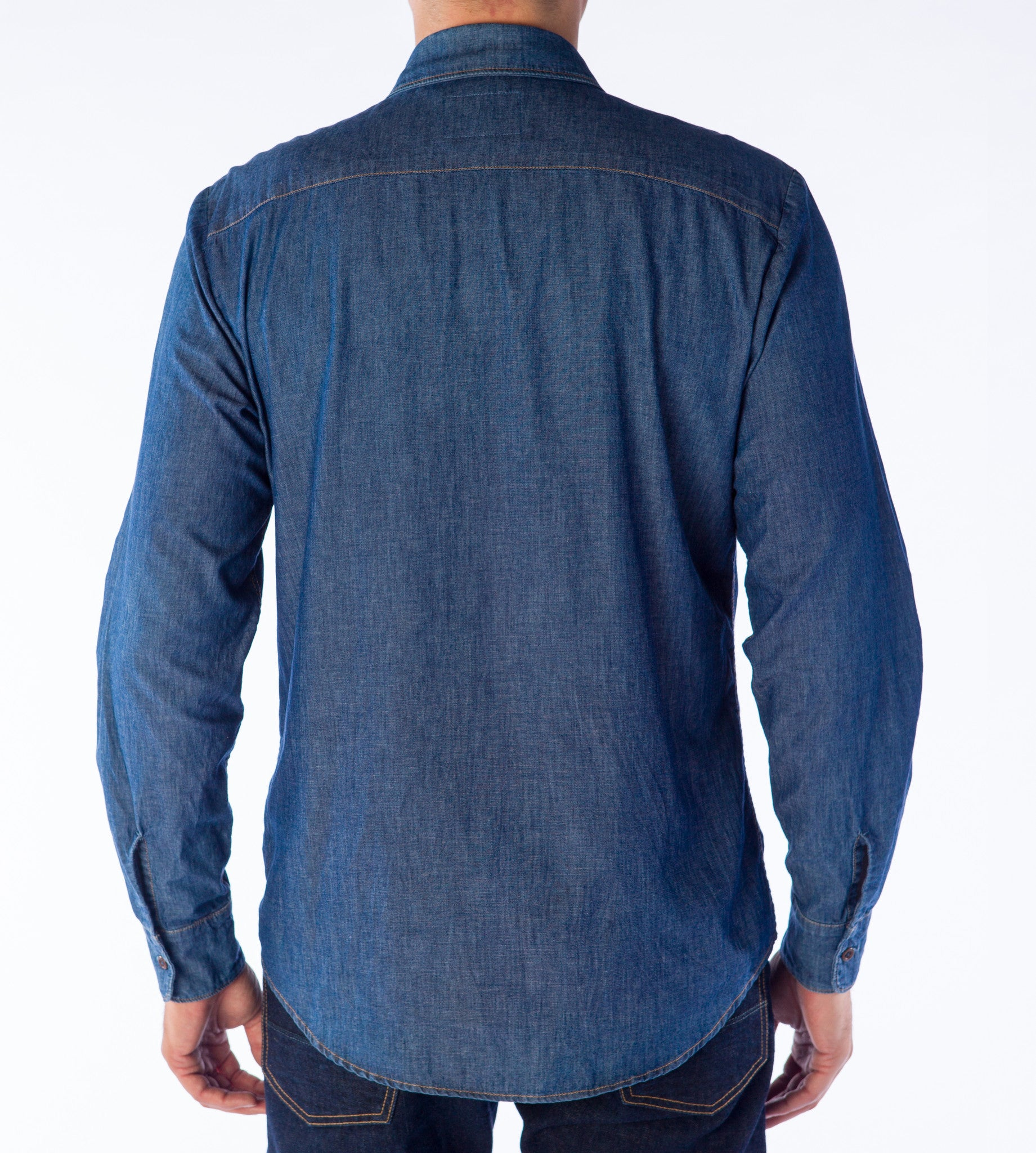 1f828a9ec8 Men s Original Denim Shirt - Hemp Blue
