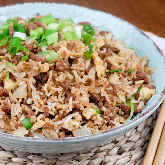 Classic Beef Fried Rice - Restaurant PM