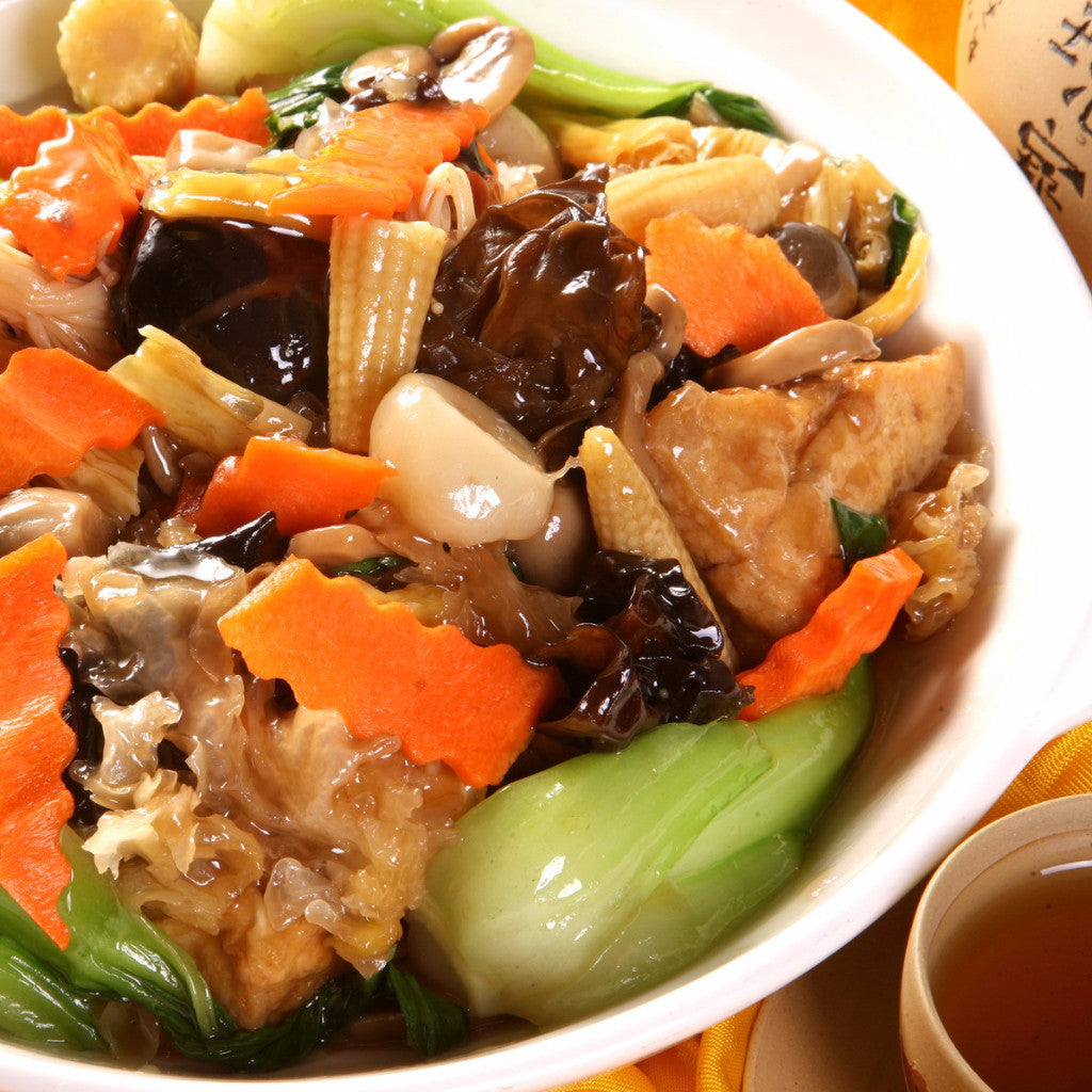 Buddha delight (Mix Vegetable & Mushroom) - Restaurant PM