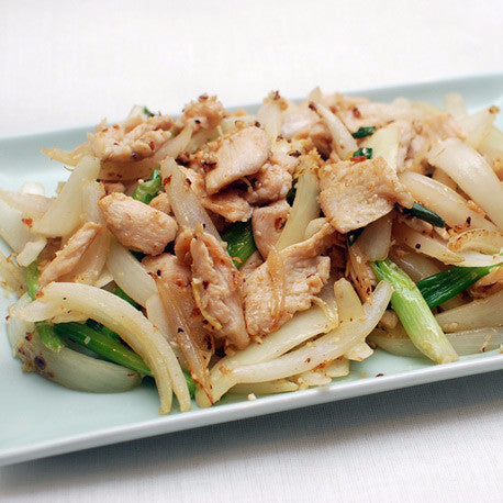 Chicken with ginger and shallots - Restaurant PM