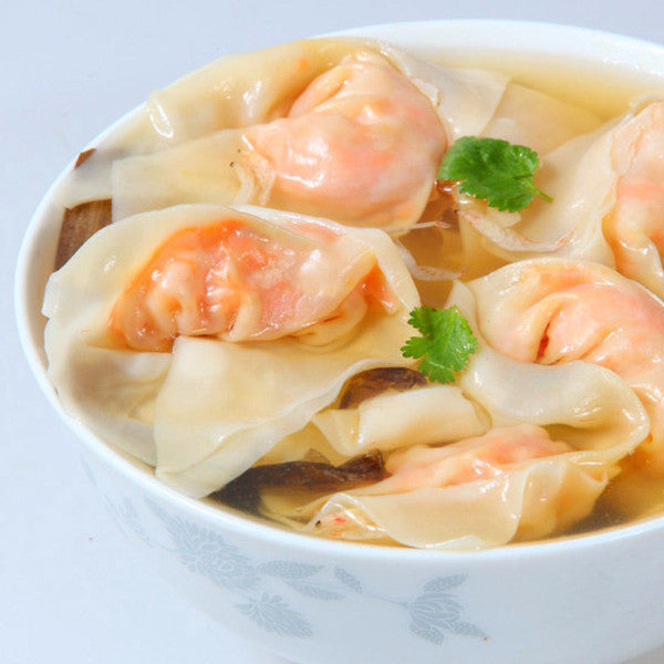 Jumbo Won Ton soup with shrimp and pork - Restaurant PM