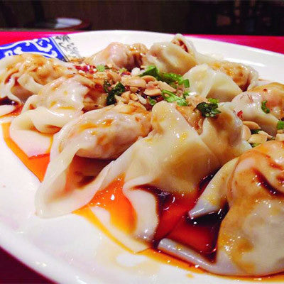 Peanut butter dumplings with pock (6/12) - Restaurant PM