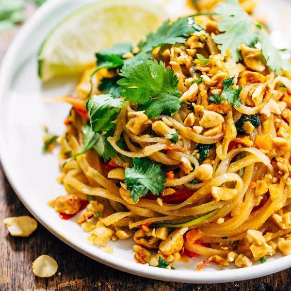 Thai rice noodles (Phad-thai) - Restaurant PM
