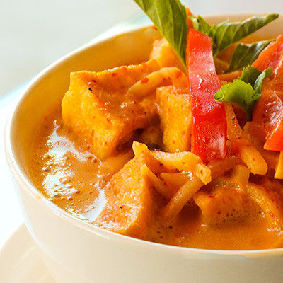 Red curry fried tofu - Restaurant PM