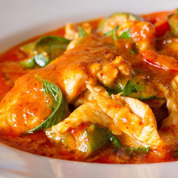 Red curry OR Singapore curry chicken - Restaurant PM
