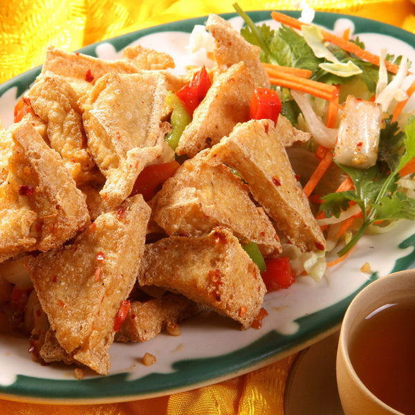 Salted and spicy fried tofu (S/L)