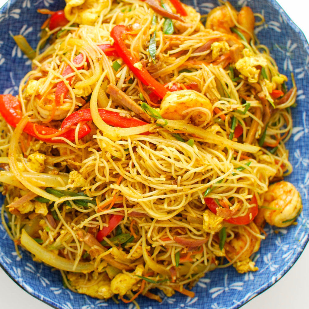 Singapore rice noodles – Restaurant PM