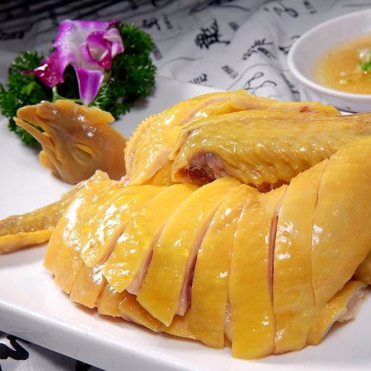 Steamed chicken (half)-Chinese Poached Chicken - Restaurant PM