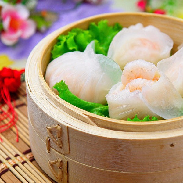 Steamed dumplings with shrimps (5/10) - Restaurant PM