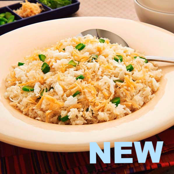 Luxurious fried rice with dried scallop