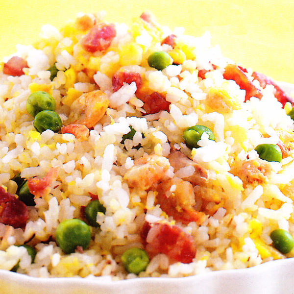 Yeung Chow fried rice with shrimp, chicken and pork - Restaurant PM