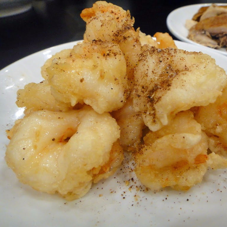 Spicy Salt jumbo Shrimps - Restaurant PM
