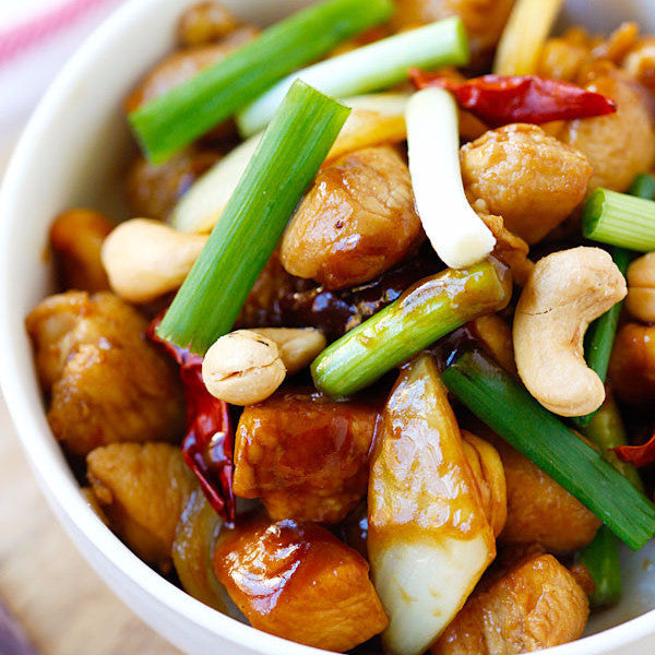 Chicken with cashew nuts - Restaurant PM
