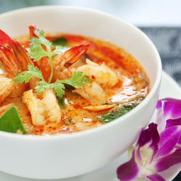 TomYum soup with Chicken Shrimps / Seafood - Restaurant PM