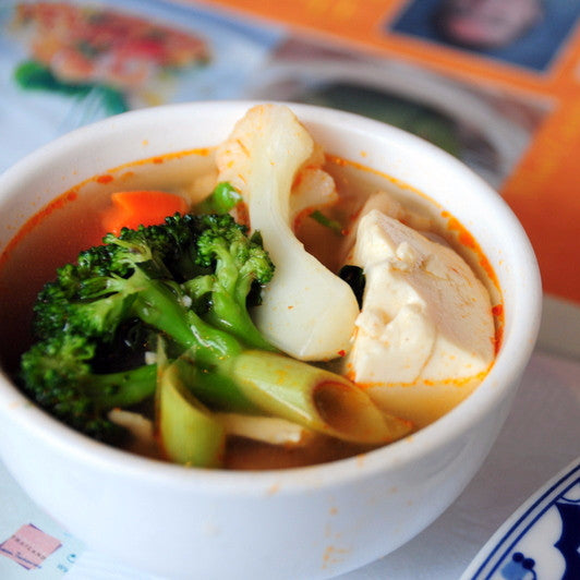 TomYum soup with Vegetable / Tofu - Restaurant PM