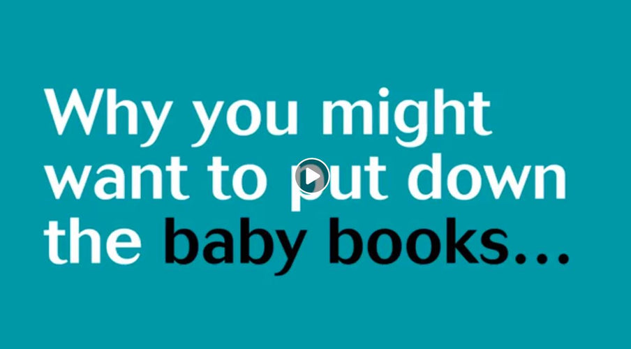 Why you might want to put down the baby books...