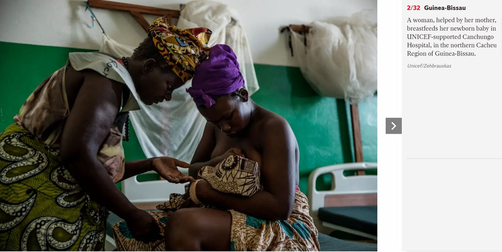 breastfeeding in the northern Cacheu Region of Guinea-Bissau