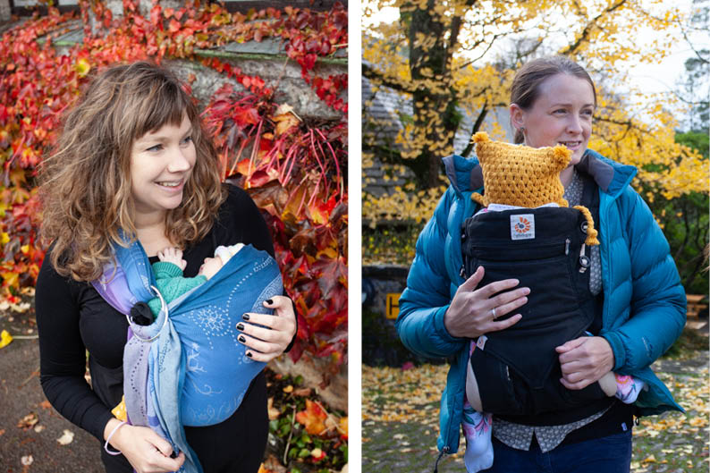 babywearing slings and bshirts