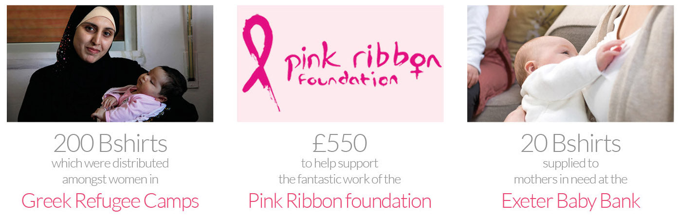 We donated over £500 to the Pink Ribbon Foundation