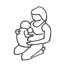 upright koala hold