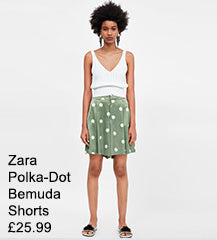 Zara Polka-Dot Shorts