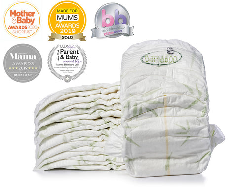 Bamboo Eco Biodegradable Nappies by Mama Bamboo