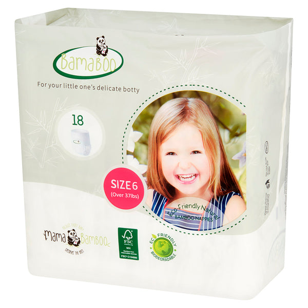 Bamaboo Biodegradable Nappies