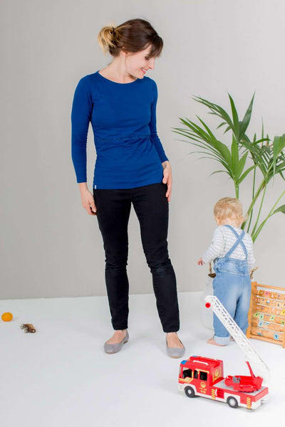 Bshirt Long Sleeves in Bluebell